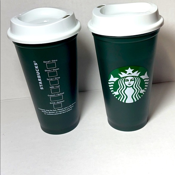 Starbucks color changing hot cups.